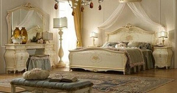 Dormitorios con muebles de lujo casa pinterest - Dormitorios de lujo ...
