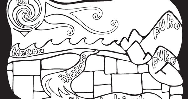 mauri coloring pages - photo#7
