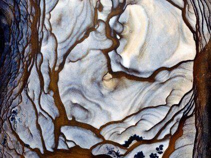 Blue Biggs Jasper stone. Blue Biggs Jasper is a silicated volcanic ash.