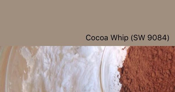 Sherwin Williams Cocoa Whip Sw 9084 Swatchdeck App