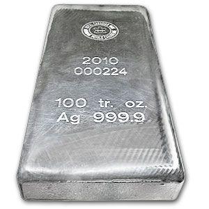 100 Ounce Rcm Royal Canadian Mint Silver Bar 9999 Zurametals Silver Bars Silver Bullion Coins Silver Bullion
