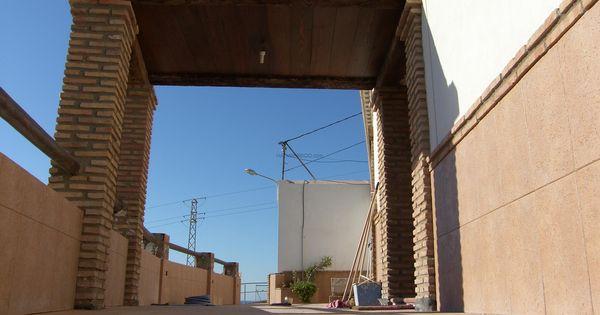 Reforma integral de vivienda porche de entrada porche de - Porche entrada vivienda ...