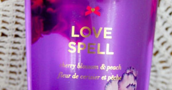 RARE! Discontinued VICTORIA'S SECRET LOVE SPELL Fragrance ...