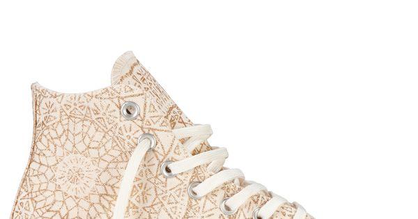 Chuck Taylor Snowflake Sparkle converse high tops