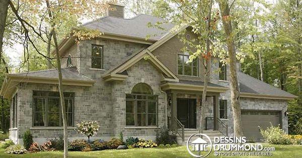 Mod le populaire champ tre plan no 3816 de dessins for Modele maison champetre