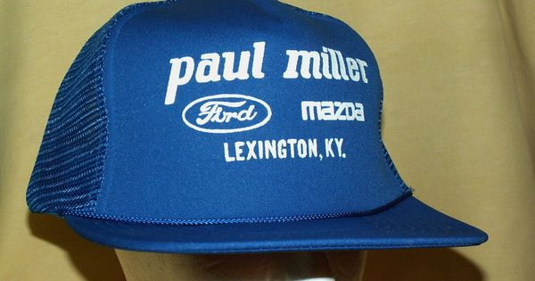 paul miller ford mazda hat baseball ball cap snapback mesh blue lexington ky apparel and. Black Bedroom Furniture Sets. Home Design Ideas