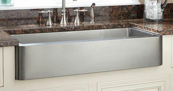 Retrofit Farmhouse Sink : ... Stainless Steel Retrofit Farmhouse Sink Shorts, Aprons and Sinks