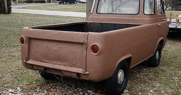 Econoline Rat Rod 1963 Ford Econoline Five Window Pickup Project Hot Rod Rat Rod No Rat Rod Pickups For Sale Used Ford