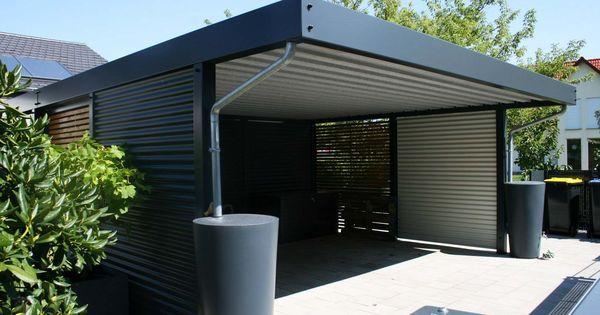 design metall carport aus stahl holz blech glas. Black Bedroom Furniture Sets. Home Design Ideas