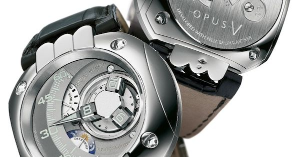 The Opus 5 came to Harry Winston by way of Urwerk's Felix ...
