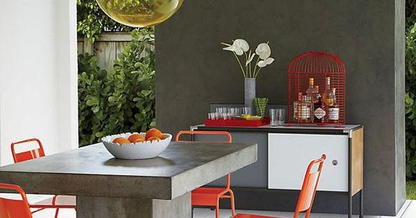 D cor do dia mesa industrial e vibrante mesas for Table vibrante