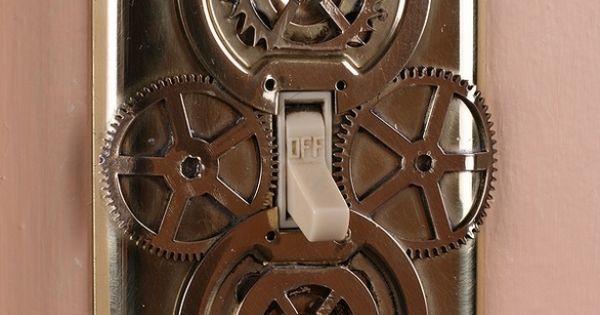 Steampunk diy fixtures accessories home decor home Diy steampunk home decor