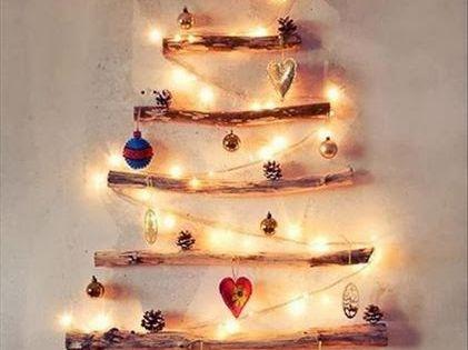Decoracion facil arboles de navidad con materiales - Arboles de navidad de diferentes materiales ...