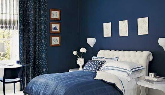 Blue Master Bedroom Color Ideas - Blue Master Bedroom Ideas | Jamseed