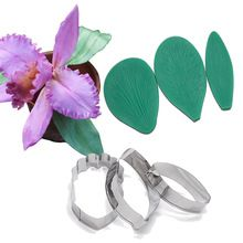 Cymbidium Orchid Flower Petal Cortador De La Torta Que Adorna Las Herramientas Fondant Molde De Orquide Cymbidium Orchids Cake Decorating Tools Cattleya Orchid