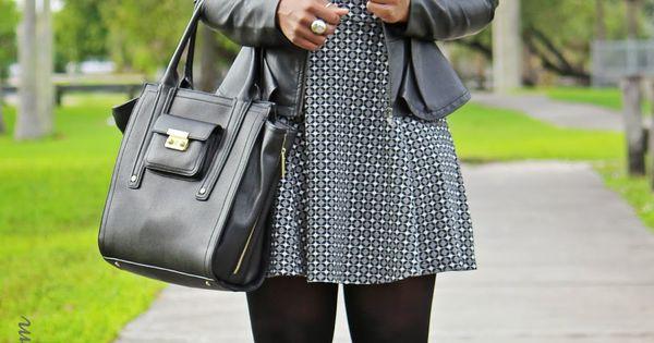 Grey Matter | Peplum Jacket - F21 | Dress - F21 |