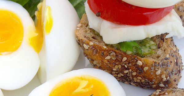 How to Make a Soft Boiled Egg in a Stylish 7-Minute Caprese Breakfast is the perfect way to start a leisurely vacation day or Sunday morning, with the freshest