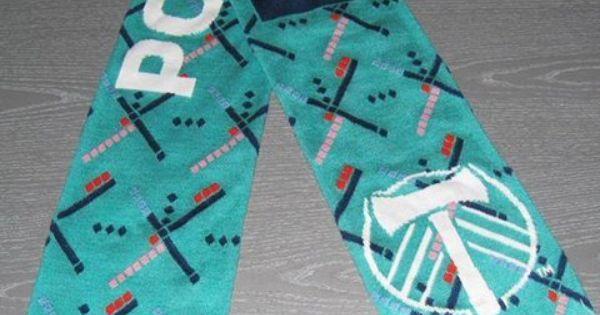 Portland Timbers Scarf Pdx Carpet Pattern Portland
