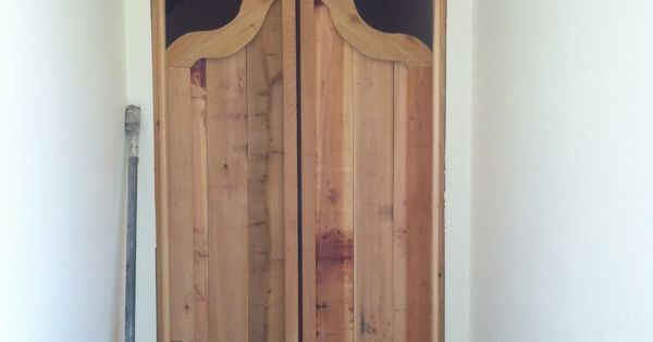 Cedar Saloon Doors Construction Projects Pinterest