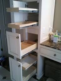 Shelves Pull Sliding Cabinet Images About Bathroom Shelves On Pinterest Pull Ou Built In Bathroom Storage Bathroom Storage Solutions Bathroom Storage Cabinet