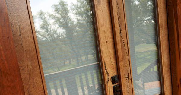 Elegant Double Doors Featuring Sikkens Proluxe Cetol Door Window In Natural And Cetol Srd