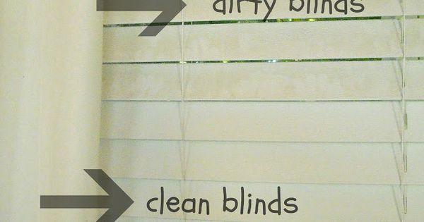 Keep Home Simple: How to Clean Dirty Blinds. Use an old sock