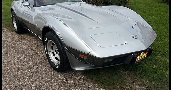 1978 silver anniversary corvette for sale mecum houston. Black Bedroom Furniture Sets. Home Design Ideas