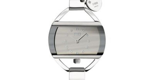 Storm London Ladies Silver Rectangular Dial Watch Debenhams