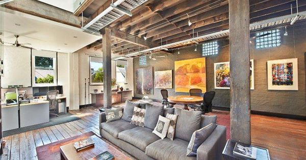 Old warehouse converted into a home for the home - Warehouse turned into home ...