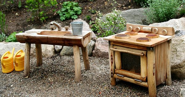 An Outdoor Play Kitchen Love This Def Cannot Diy This I Can 39 T But I Know Of Some Shops In