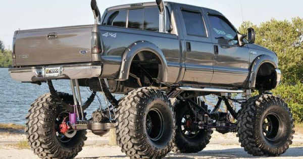 Pocket Flares on a jacked up Ford | Somethin About a Truck ...