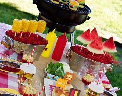Summer party ideas decor