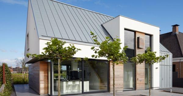 Zinken dak referenties 1 pinterest voor het huis architectuur en huizen - Huis interieur architectuur ...