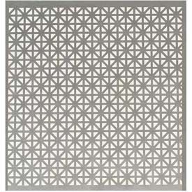M D Aluminum Sheet Union Jack 56008 24 L X 12 W X 0 2 H Silver For Section Of Built In That Is Adja Sheet Metal Crafts Perforated Metal Decorative Sheets