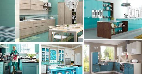 38+ Decoracion de cocinas color turquesa ideas