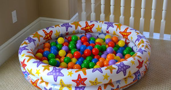 Small Inflatable Kiddie Pool With Balls We Have A Pretty