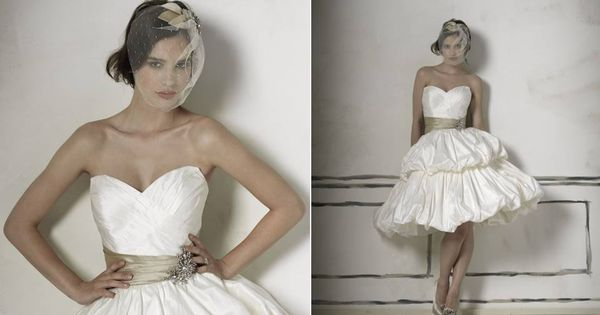 Simple Design But Look Stunning With Bridal Cocktail Dress ...