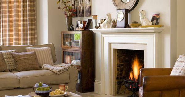 Astonishing Country Living Room Cosy