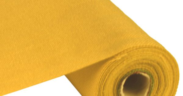 Faux Burlap Fabric Roll 9 5 X 10 Yards Yellow Burlap