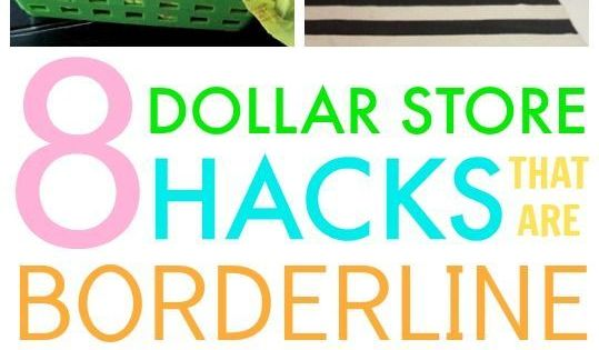 8 Dollar Store Hacks That Are Borderline Genius So Cute