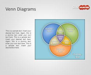 Free Creative Venn Diagrams Powerpoint Template Free Powerpoint