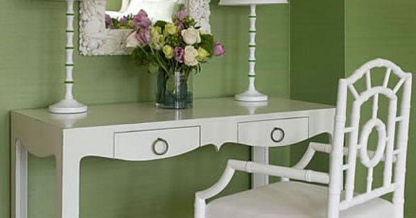 Green and white green white cottage pinterest decoraci n hogar verde y hogar - Pinterest decoracion hogar ...