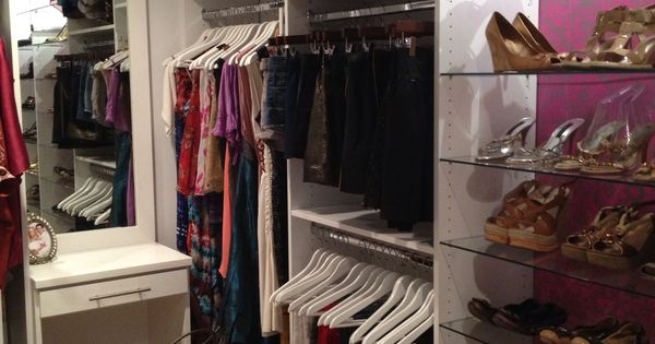White Closet Triple Hang Another Custom Work By Me