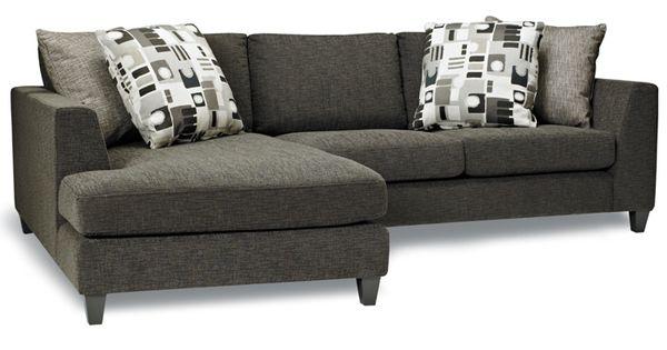 Meubles linton furniture sofa sectionnel contemporain for Meuble belisle sectionnel