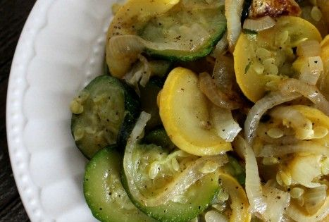 Delicious Sauteed Zucchini And Squash With Onions Recipe