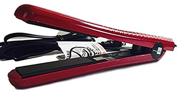 Hair Straightener Style House 125 Professional Styling Iron Red Find Out More About The Grea Styling Iron Hair Straighteners Flat Irons Hair Straightener