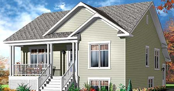 Plan 21970dr Bungalow With Apartment Below Best Walkout