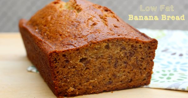 Low fat banana bread, Recipe for banana bread and Recipes for bananas ...