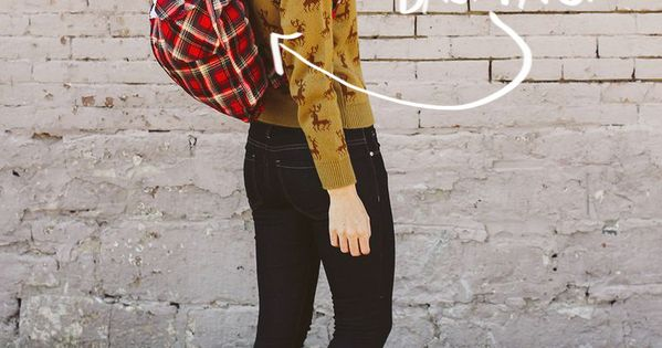 DIY Plaid Backpack.... Have any old shirts or jacket or quite frankly