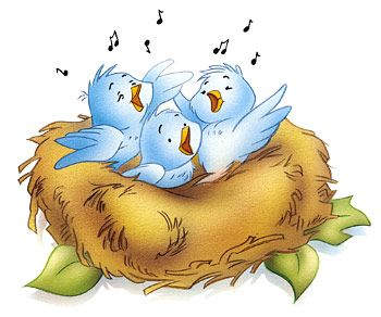 Why Do Birds Sing Stop Crazy Eating Cycle Kids Help Around The House Cartoon Birds Cute Birds Bird Clipart